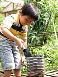 Gardening with Kids during Summer Holidays