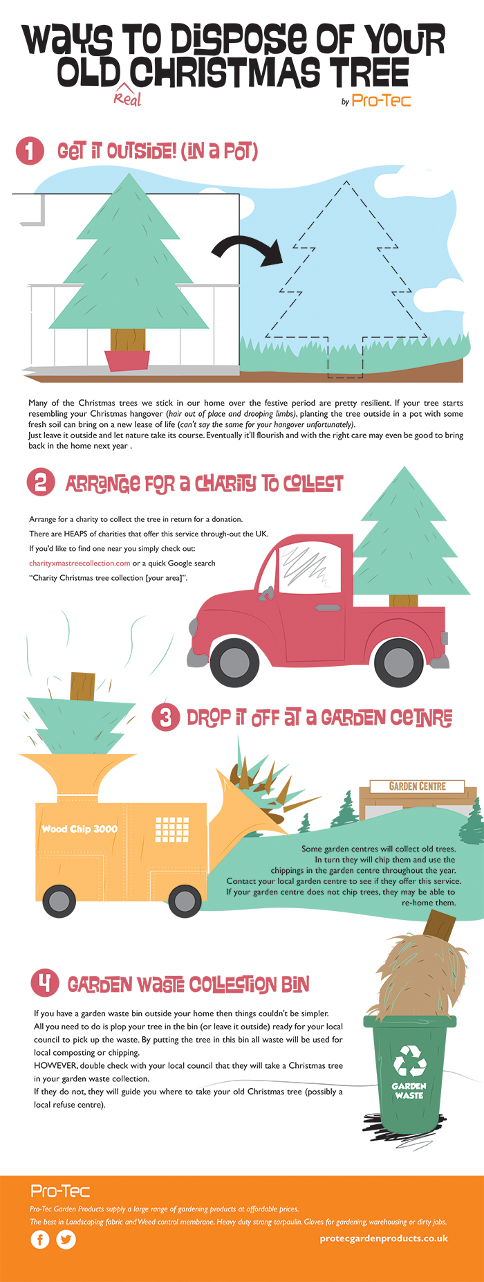 How To Dispose Of Your Old Christmas Tree Tips From Pro Tec