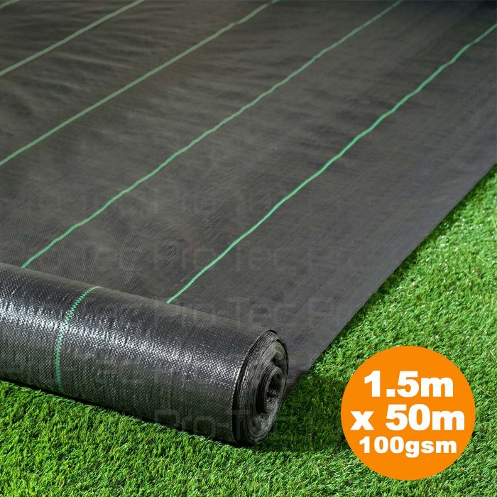 Picture of 1.5m x 50m Weed Control Landscape Fabric