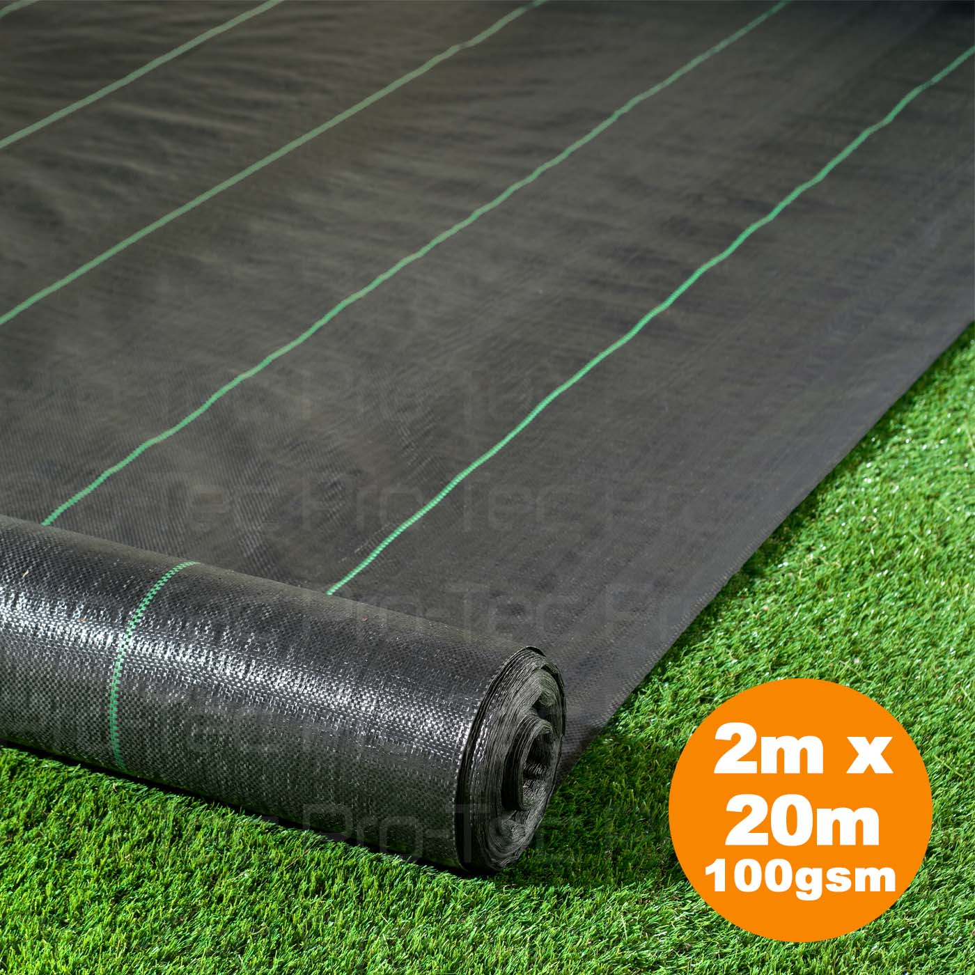 Picutre of 2m x 20m Weed Control Landscape Fabric