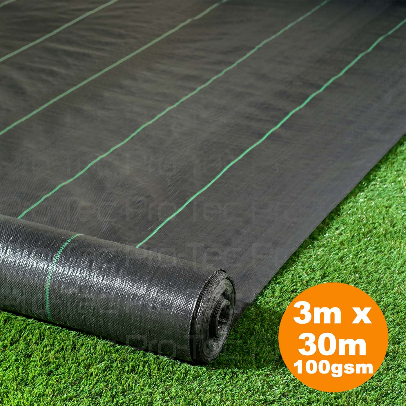 Picture of 3m x 30m Weed Control Landscape Fabric