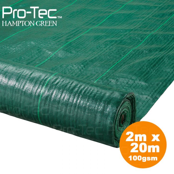 Picture of Green weed control fabric