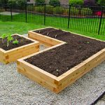 Picture of Raised Garden Bed and Gravel
