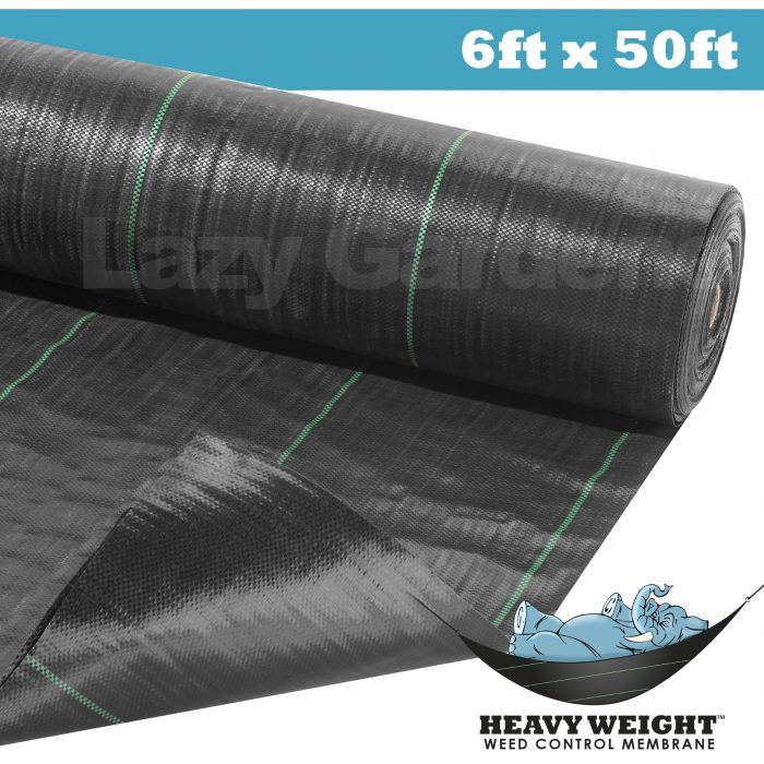 6ft x 50ft weed control fabric