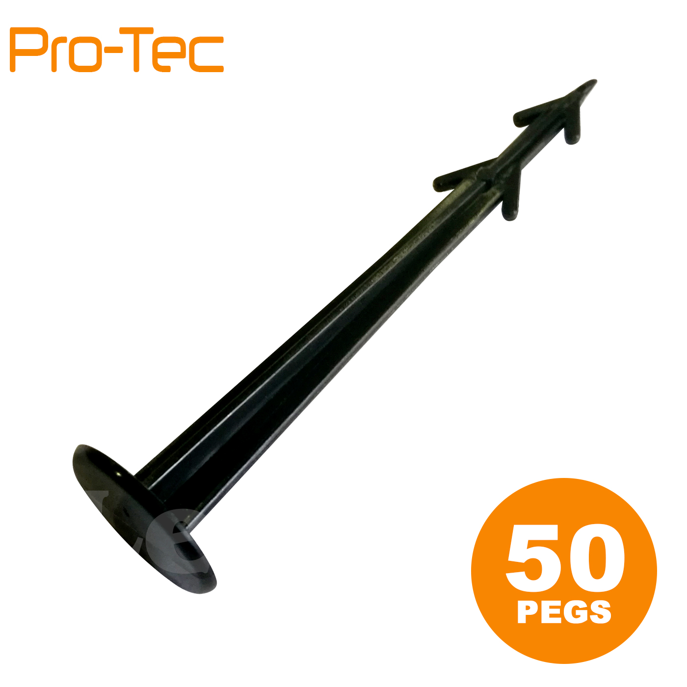 50 Pegs for weed control fabric