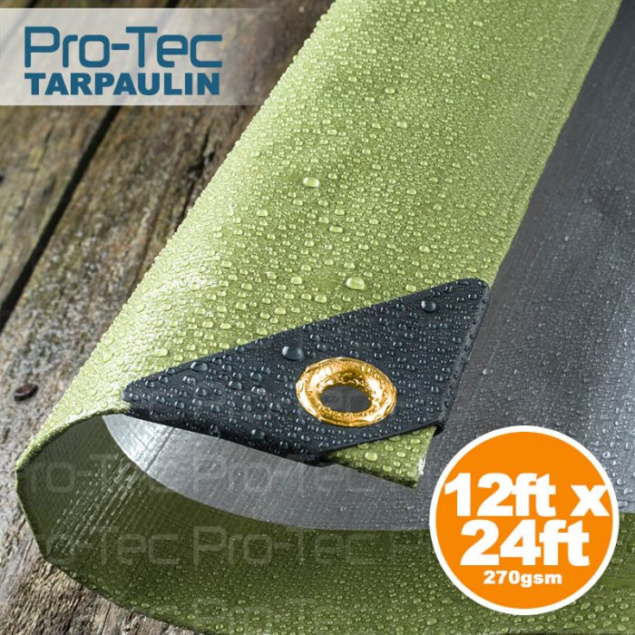 Picture of 12ft x 24ft Tarpaulin 270gsm