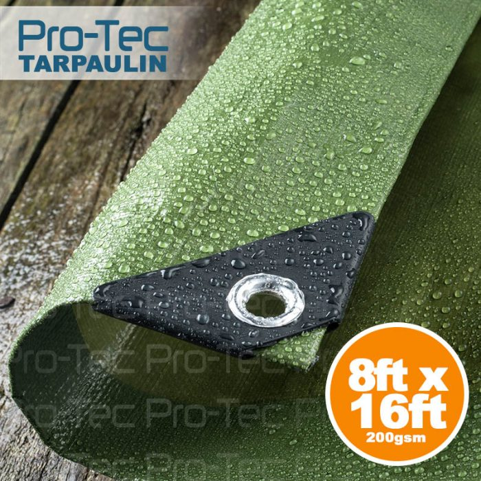 Picture of 8ft x 16ft Tarpaulin Green
