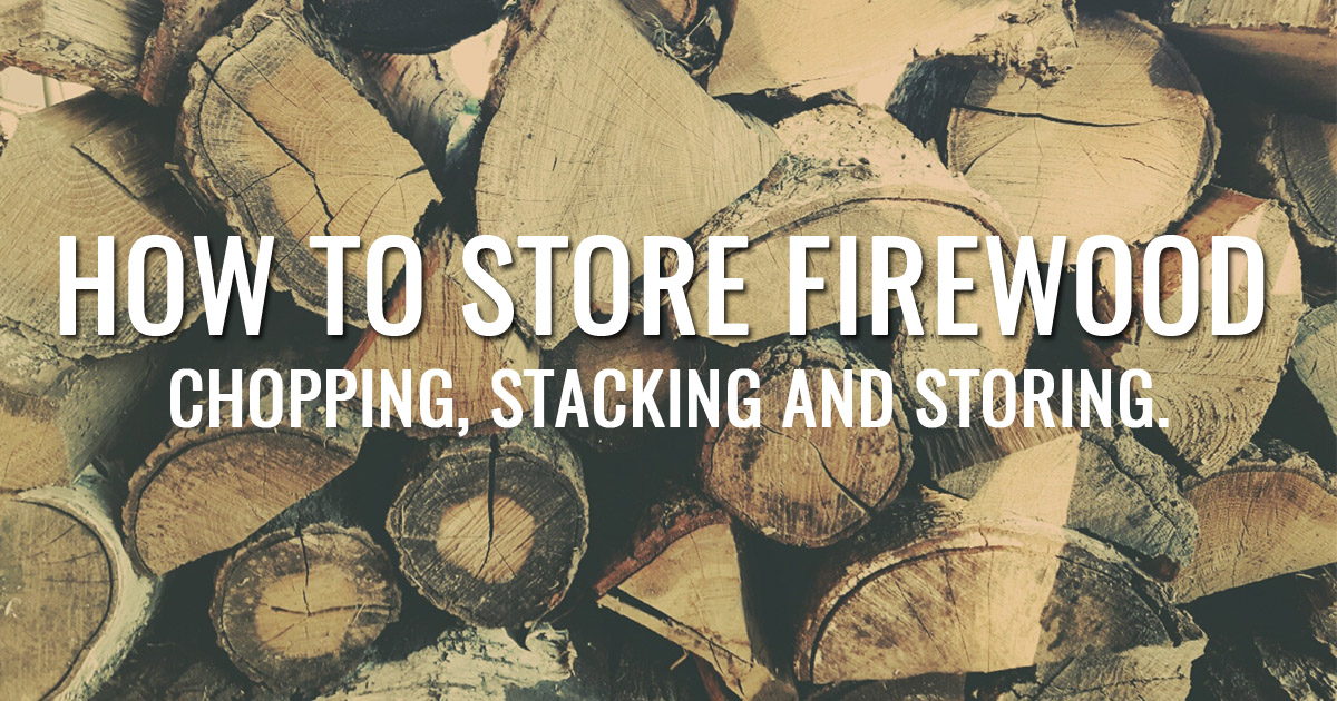 Picture of How To Store Firewood