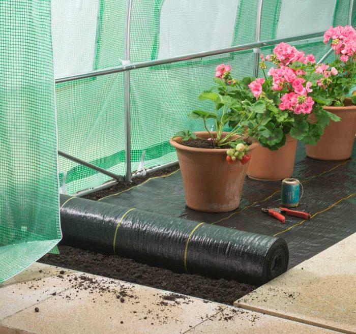 Polytunnel Extra Heavy Duty Weed Control Fabric