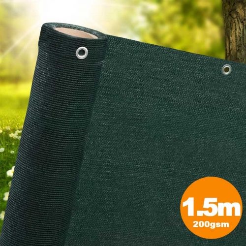 1.5m Green Privacy Screen Netting