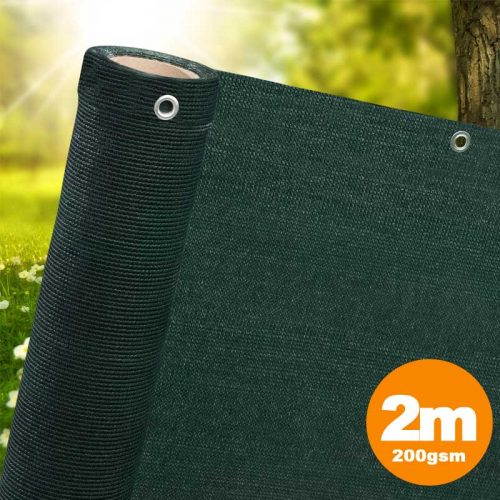 2m Green Privacy Screen Netting