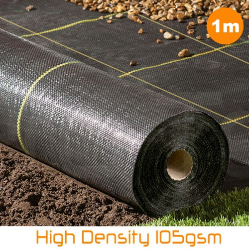 Heavy weed control fabric