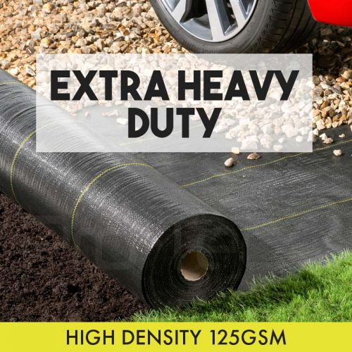 Extra Heavy Duty Weed Control Fabric 125gsm