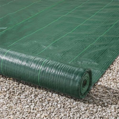 Green Weed Control Landscape Fabric 100gsm