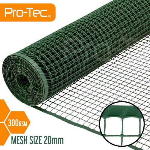 Plastic Garden Mesh Fencing