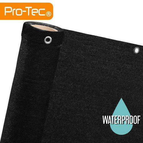 Black Waterproof Privacy Screen Netting