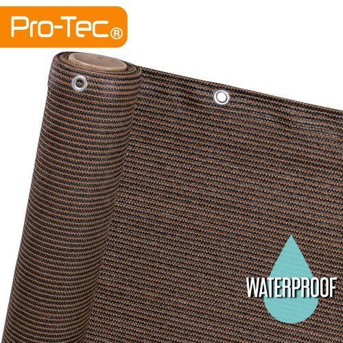Brown Waterproof Privacy Screen Netting