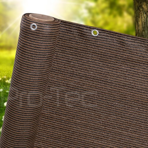 Brown Privacy Screen Netting